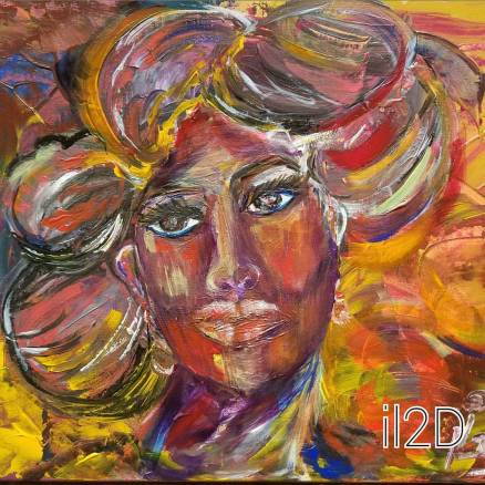 """""""All Dolled Up"""" 16x20 SOLD"""