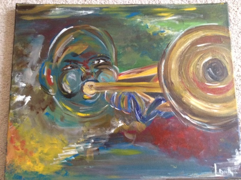 """All that Jazz"" 16x20 SOLD"