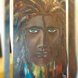 """""""The Warrior"""" SOLD"""